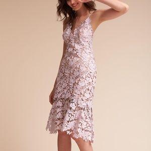 Anthropologie BHLDN Marina Floral Applique Dress